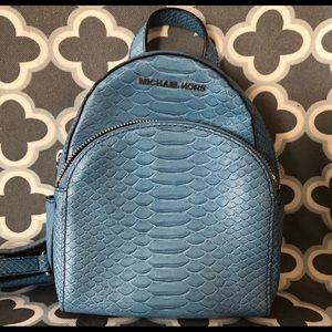 Sky Blue Mini Abby Michael Kors BackPack